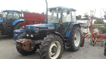 New Holland Traktoren 7740 SLE