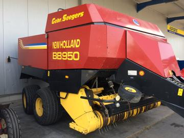 New Holland Pressen BB950 Quarderballenpresse
