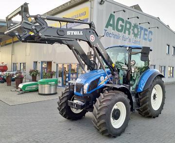 New Holland Traktoren T5.105 mit Stoll-Frontlader