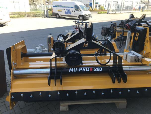 MU-M 280 Vario Front- Heckmulcher