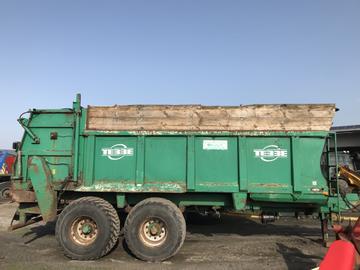 Tebbe Dung-/Kompoststreuer HKS 160