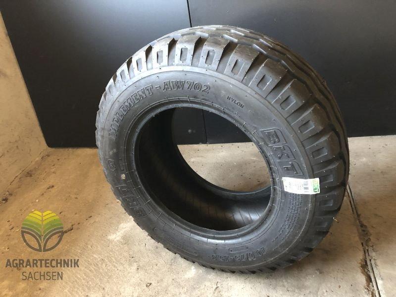 75-15,3 AW Reifen mit Felge für Anhänger Kipper 2 Stück Komplettrad 10,0