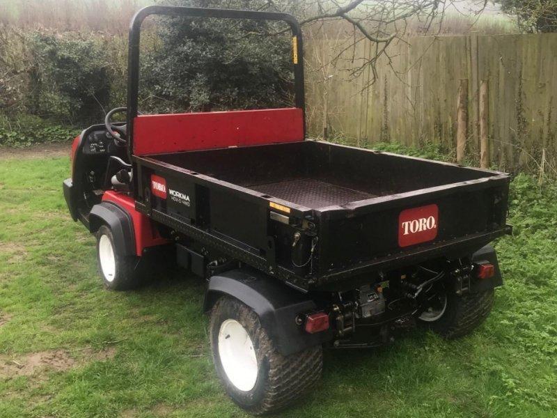 Toro Workman Hdx 4wd Allrad Transporter Bild 2 Von 2