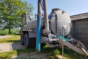 BSA Mesttank 10.000 Liter + Bemester