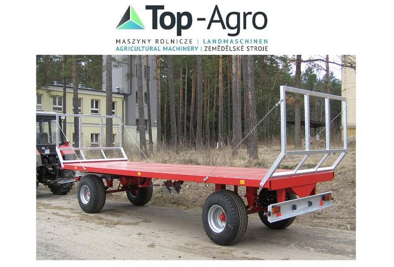 Cynkomet Top-Agro Ballentransportwagen T 608 9T Verzinkt DIREKT VOM ...