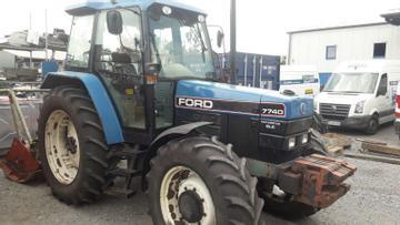 Ford Traktoren 7740 SLE