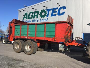 Kemper Dung-/Kompoststreuer Uni Trans UT 18000 einsatzbereit