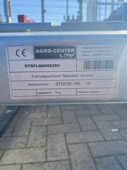 Staplergabel mit Euronormaufnahme