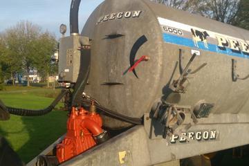 Peecon 6.000 liter + 4.40 meter bemester