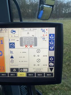 KDS 140 Muck Control Dungstreuer Kompost Mist