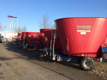 Siloking Futtermischwagen 12 m³ mit 20 cm Aufbau