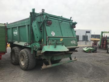 Tebbe Dung-/Kompoststreuer DS160