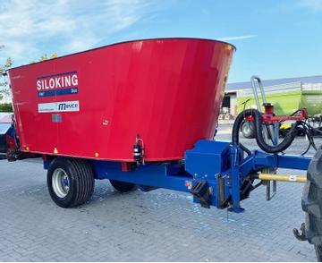 Siloking Futtermischwagen TrailedLine DUO 14T