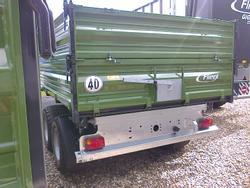 TDK 80A-88 Fox 40 km Auflaufbremse Breitreifen
