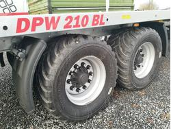 DPW 210 BL 40 km mit Breitreifen