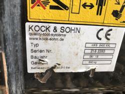 Hochkippschaufel HKS 2400 XXL