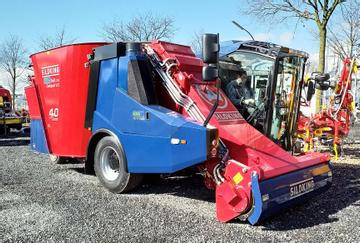 Siloking Futtermischwagen SelfLine 1612-13 mit 2 m Fräse