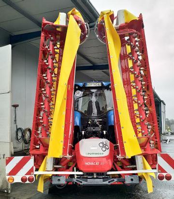 Pöttinger Mähwerke Novacat A9 ED Extra Dry mit Aufbereiter