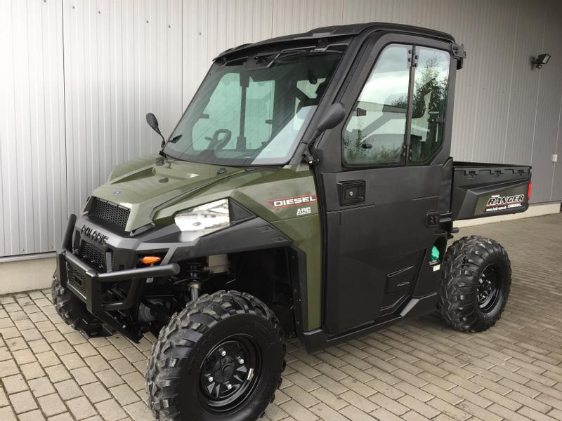 bild von polaris ranger 1000 eps diesel kabine. Black Bedroom Furniture Sets. Home Design Ideas