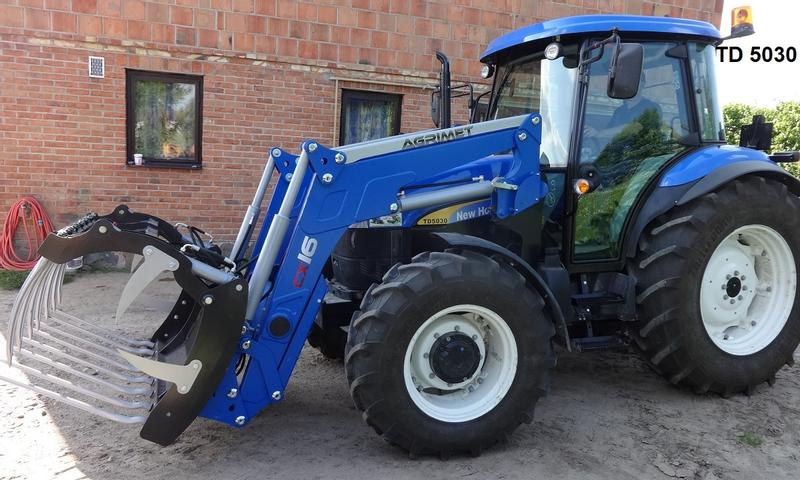 New holland t mit frontlader new holland t mit