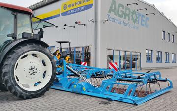 AGROTEC Wiesenstriegel Münsterland Hybro 600 H