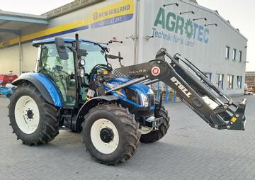 New Holland Traktoren T5.105 DC mit Stoll-Frontlader