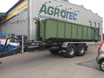 Fliegl Container-Hakenlift-Systeme HKL 22